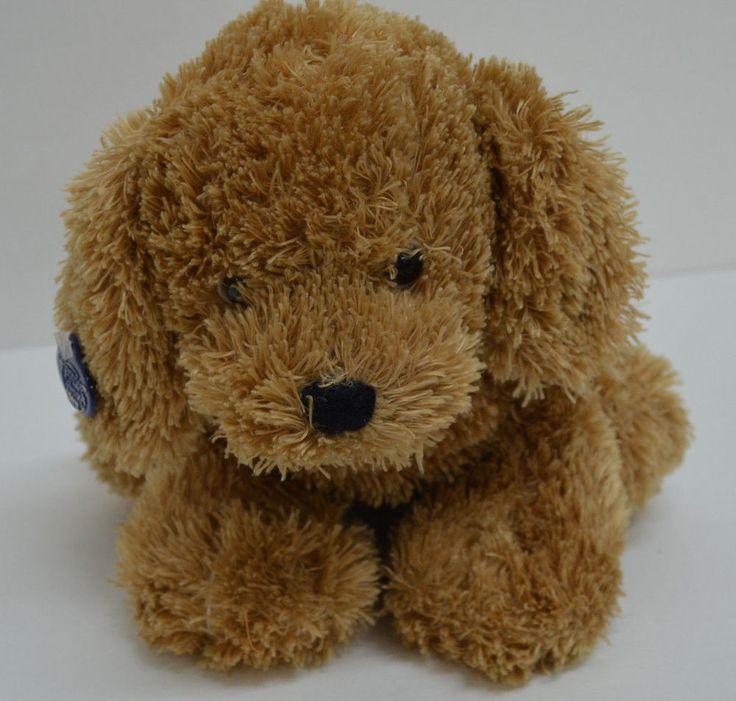"Ganz Heritage Collection Dudley Puppy Dog Plush Brown Bean Bag 12"" 2000 H3618 #GANZ http://stores.ebay.com/Lost-Loves-Toy-Chest?_dmd=2&_nkw=ganz"