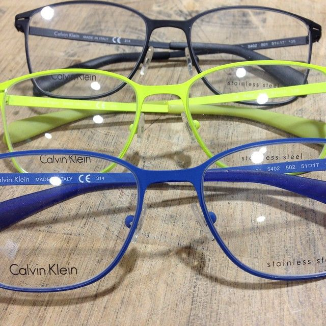 Calvin Klein CK optical at our Treetops Burleigh Waters store. Such good colours in this collection.