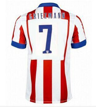 Atletico Madrid magliette da calcio 2015 GRIEZMANN 7 - Home