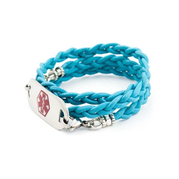 Medical ID Bracelets, Medical Alert Jewelry, Medical Alert Bracelets found on Polyvore, Laurenshope.com
