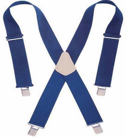 CLC H110BU Heavy Duty Work Suspenders, Blue