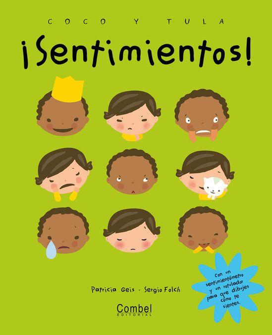 Los protagonistas son un niño negro y una niña blanca y muy gráfico para hablar de sentimientos con los niños.