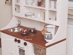 Kinderküche Selbstgemacht, Spielküche Selbstgemacht, Kinderküche Aus Holz,  Spielküche Aus Holz, DIY Kinderküche