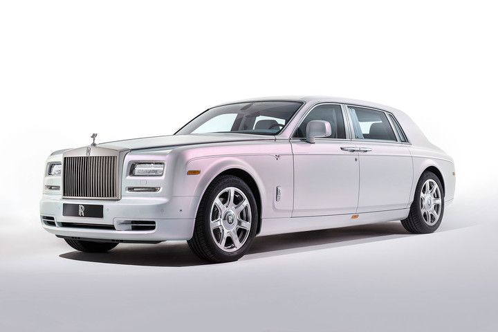 the top ten most expensive cars in world  million rolls royce phantom serenity