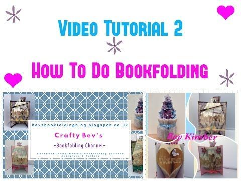How To Do Bookfolding For Beginners Youtube Tutorial