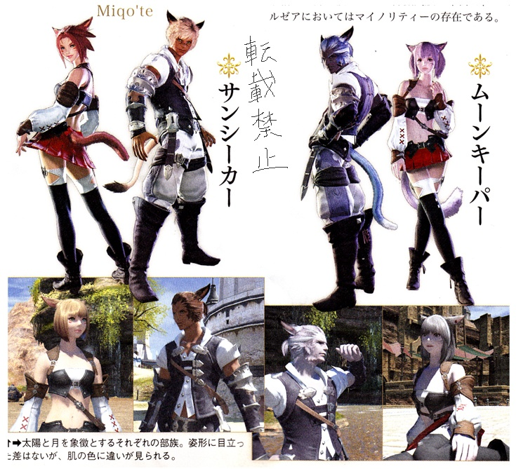 #FFXIV A Realm Reborn scans show Ul'dah, new character models and more