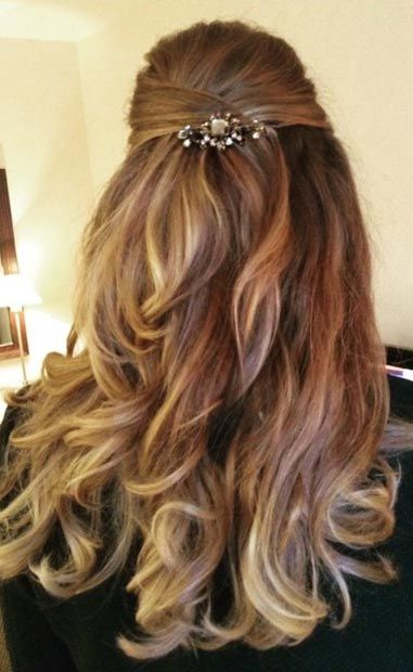 26 Stunning Half Up Half Down Hairstyles Updo Pony