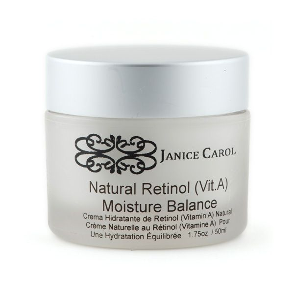 Natural Retinol (Vit A) Cream – Janice Carol Cosmetics