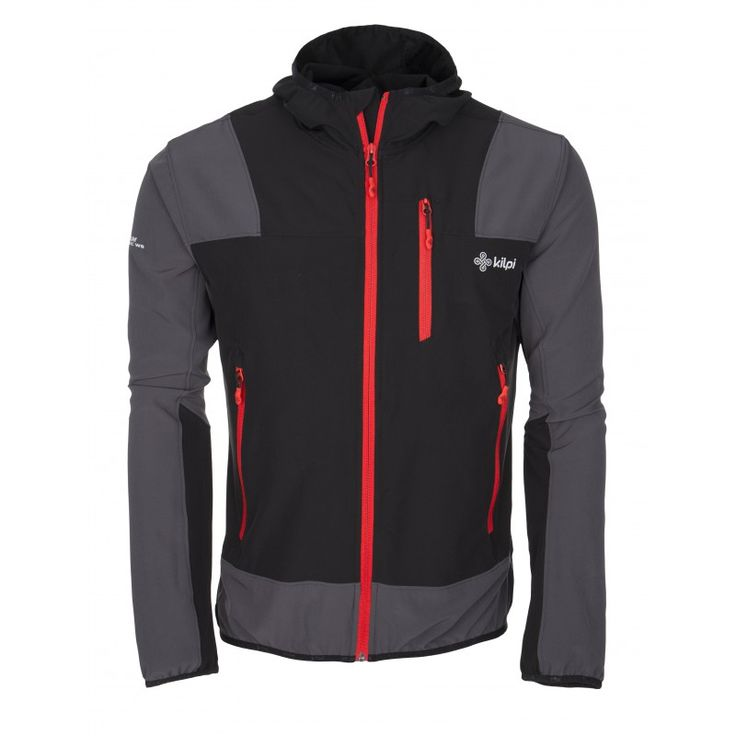 Men's technical jacket KILPI - JOSHUA - black