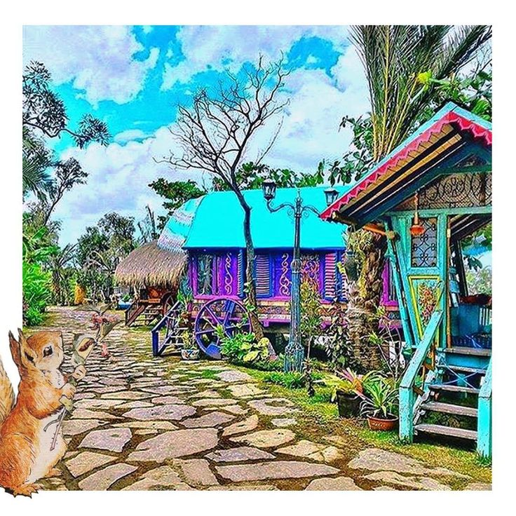 A house that has wheels and can go away down the lanes and through the towns, and stand still in fields at night!  #lalagunabali #boho #art #design #exteriordesign #gypsy #balibible #amazingbali #whattodoinbali #restaurant #bar #beachbar #travel #bali #colors #beach #sunset #beautiful #island