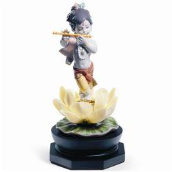 Lladro Porcelain Figurine Bal Gopal