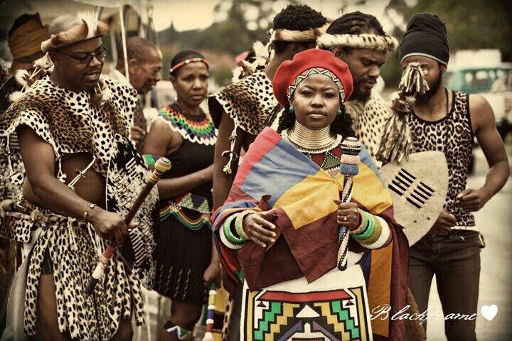 Zulu/Ndebele wedding celebration.
