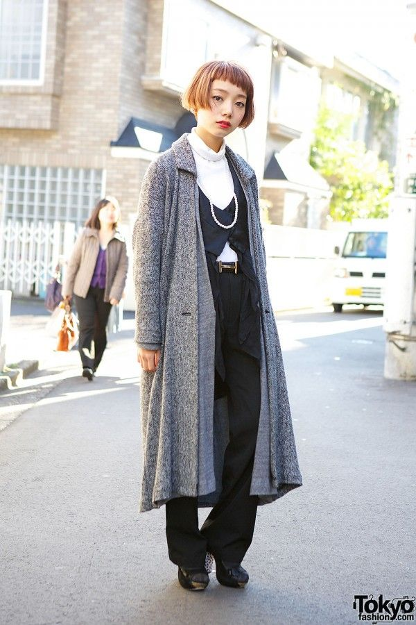 Motahu Coat in Harajuku