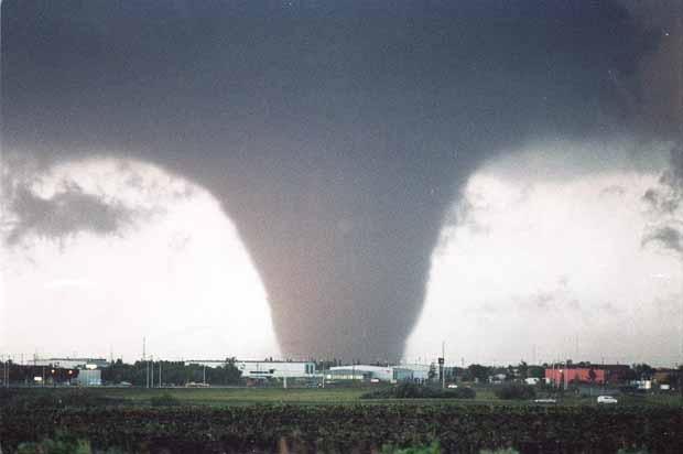 A powerful and devastating tornado hit Edmonton on July 31, 1987. #87tornado