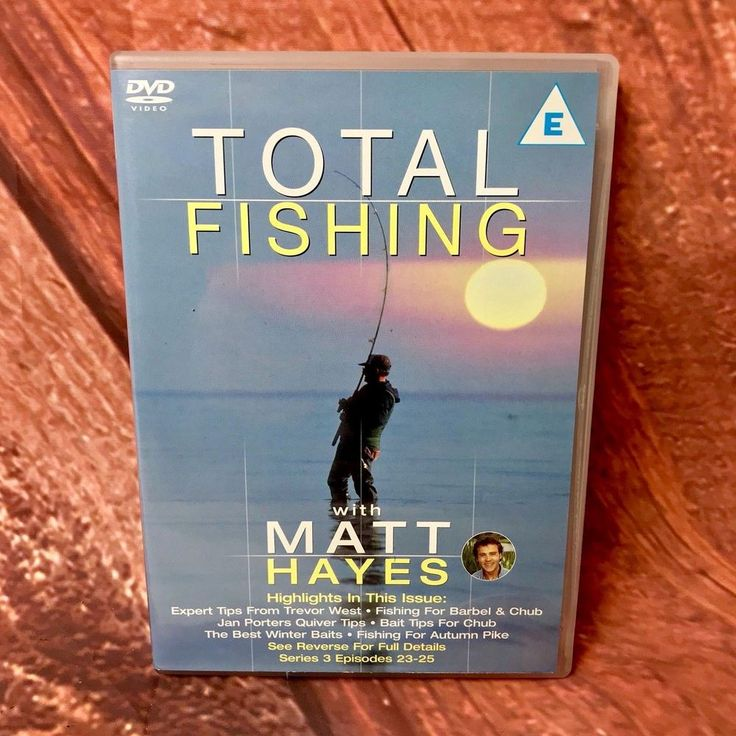 Total Fishing Matt Hayes Series 3 Episodes 23-25 Chub Barbel Bait Flavours Pike