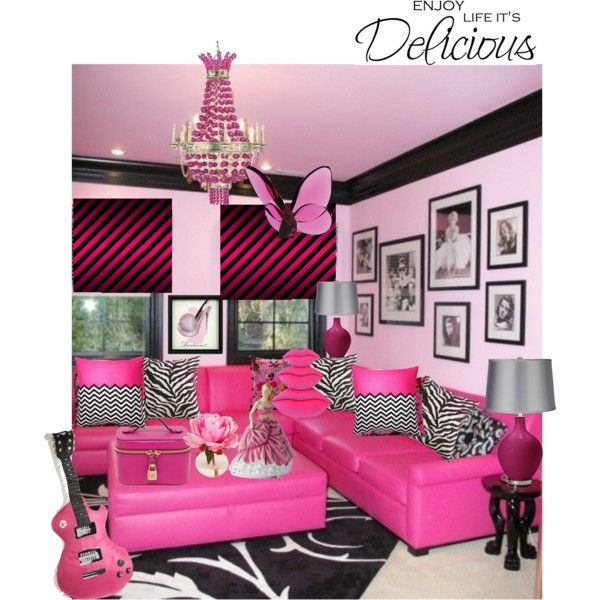 """Zebra Print Bedroom Decor Best Bedroom Arrangement Girl Bedroom Ideas Horses Design Of Small Bedroom: """"TEEN GIRL'S HANGOUT ROOM ♥ ♥ ♥"""" By Czarabella On Polyvore"""
