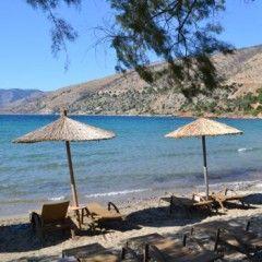 Greece beach. Beaches on Chios island