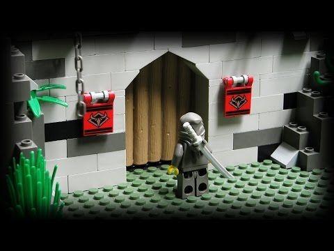 Lego Ninja - The Underground Fortress - YouTube