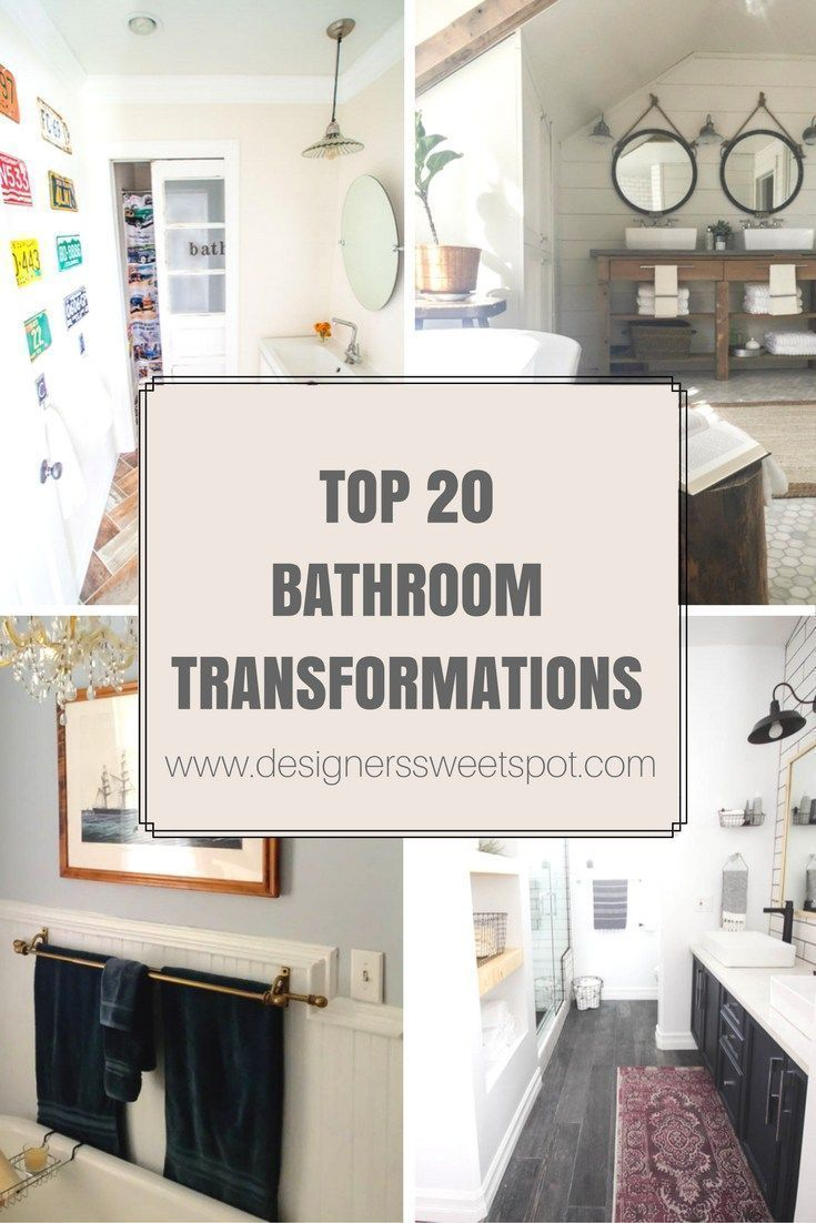 Top 20 Bathroom Transformations Cozy Traditional Home Formerly Designers Sweet Spot Bathroom Transformation Inexpensive Bathroom Remodel Bathrooms Remodel