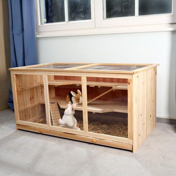 les 25 meilleures id es de la cat gorie cage pour lapin en. Black Bedroom Furniture Sets. Home Design Ideas