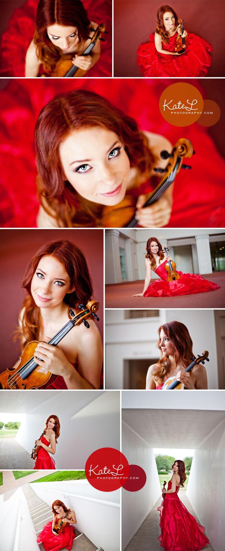 chloé trevor, violinist | houston headshot photographer - Kate L Photography | Boston Family Photographer