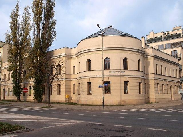 Poland, Lodz, Nawrot/Wysoka Budynek dawnej łaźni miejskie