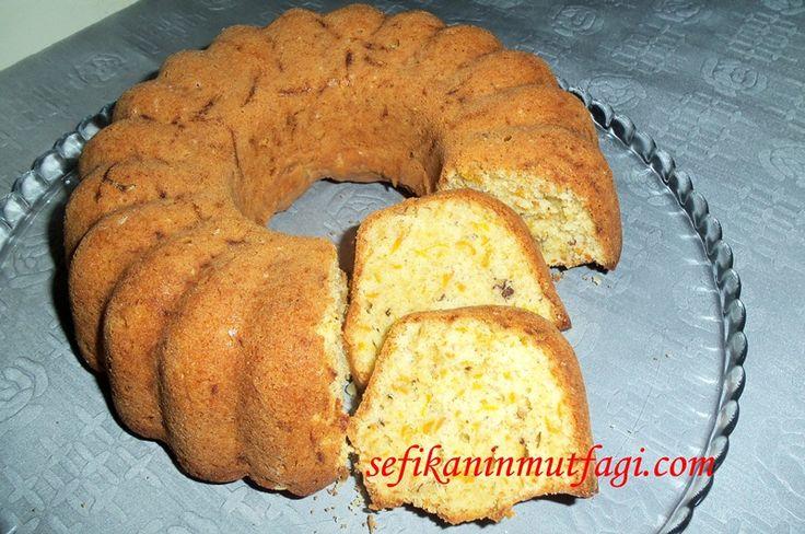 Bal kabaklı Kek #kek #kektarifleri #balkabağı #pumpkin #pasta #cake #recipes #yummy  http://sefikaninmutfagi.com/balkabakli-kek/