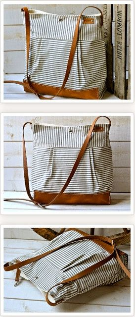 BEST SELLER Diaper bag / Messenger bag STOCKHOLM Gray by ikabags