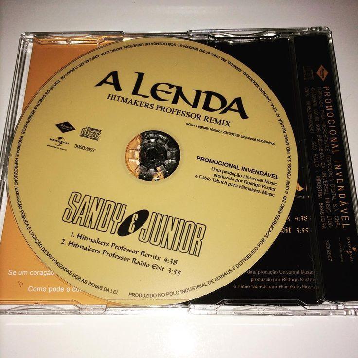 Sandy & Junior A Lenda Remix 💿💕 #singles #fanmade #alenda #sandyejunior