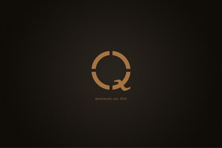 Logofolio 2012: Qlockwork (fictive client, watchmaker)