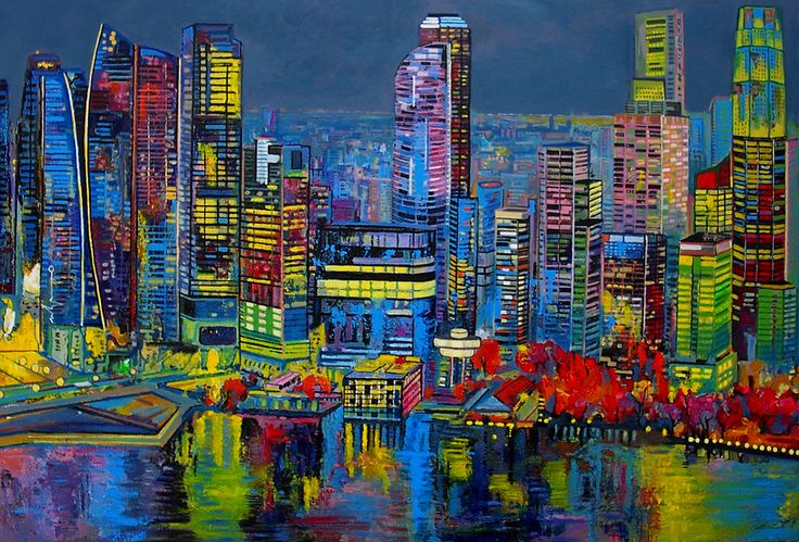 Ulpiano Carrasco, Sunset in Singapore, 2014, Barnadas Huang