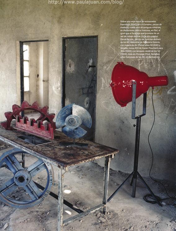 Muebles industriales decora tu hogar muebles for Decora tu hogar