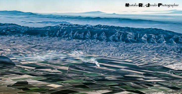 Iraq from the plane By: Mustafa Al-Jenabi