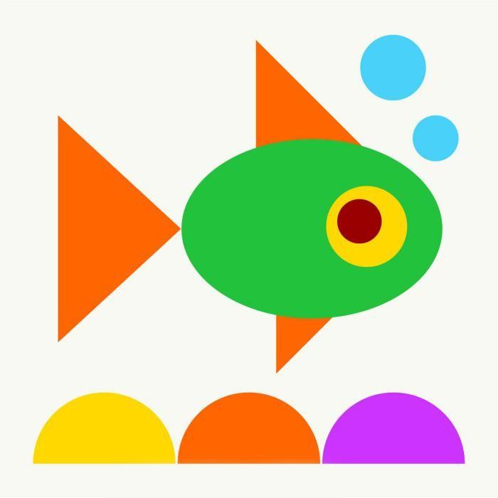 Анимация из геометрических фигур картинки, открытка