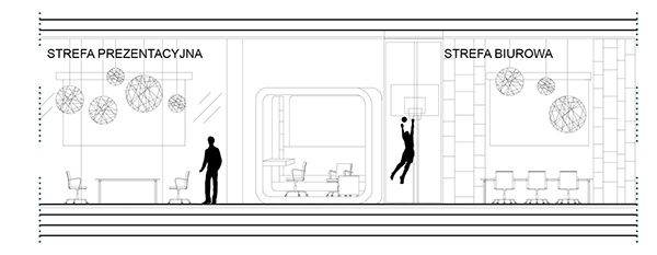 The floating office - plan