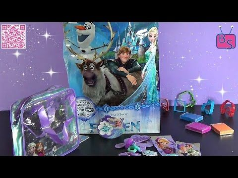 #26 Frozen Bag! Elsa & Anna Arendelle Pricesses! Look surprises! Apriamo la borsa di Frozen :) - YouTube
