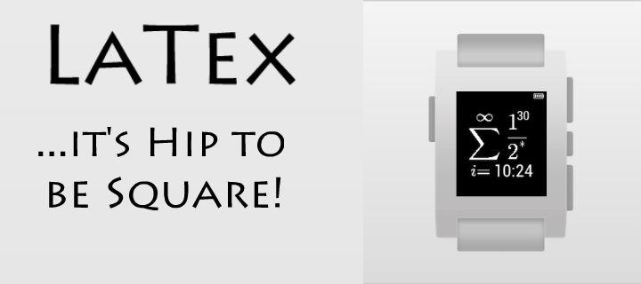 The Pebble Blog: LaTex Date Watchface