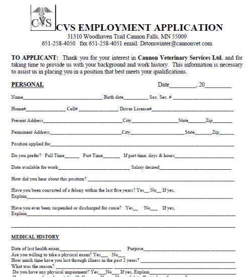 35 best Job Application Forms images on Pinterest Printable job - blank employment application