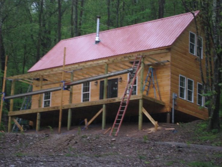 36 best hunting cabin images on pinterest small house for 20x40 cabin