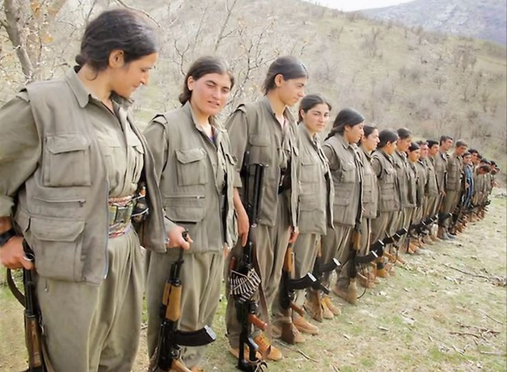 In the fierce fight for Kobani, Syria, Kurdish women warriors are said to be feared by ISIS.