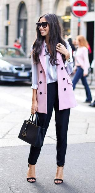 Love the sleeveless blazer look? Here are 9 ways to wear it to work during the summer and spring