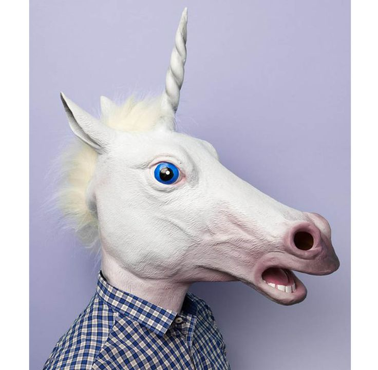 Magic Unicorn Mask! I know what I'm getting you for your bday