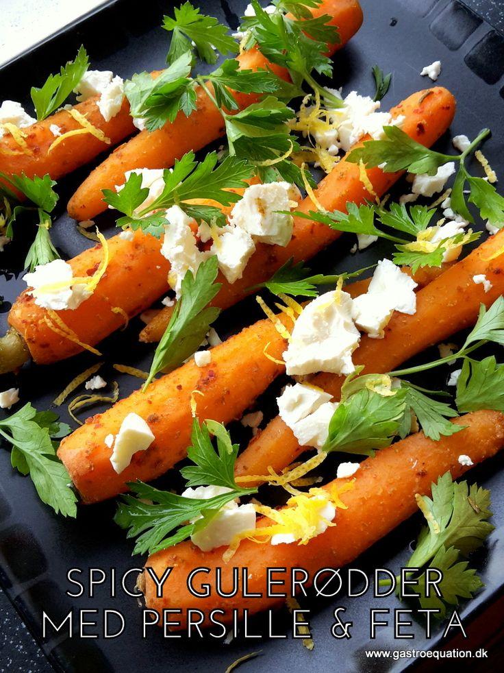 En anderledes salat / tilbehør, der kan anrettes flot og som vækker lykke hos de fleste. Pep dine kogte gulerødder lidt op med denne low fodmap opskrift.