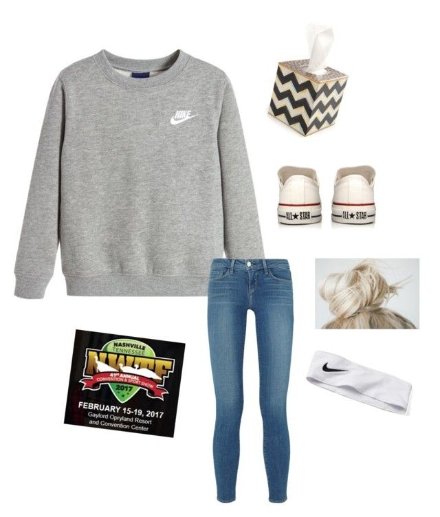 """""""NWTF national convention. """" by mallory-d ❤ liked on Polyvore featuring MacKenzie-Childs, NIKE, L'Agence and Converse"""