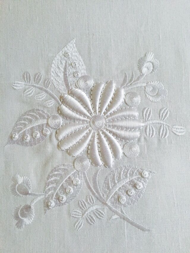 Machine Embroidery Design - Fantastic flowers (2 in 1)