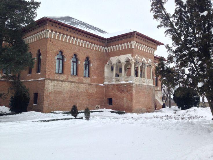 #MogosoaiaPalace #Romania #Winter #Palace