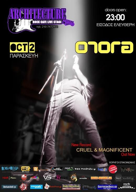 Orora Live @ Architecture Rock Cafe