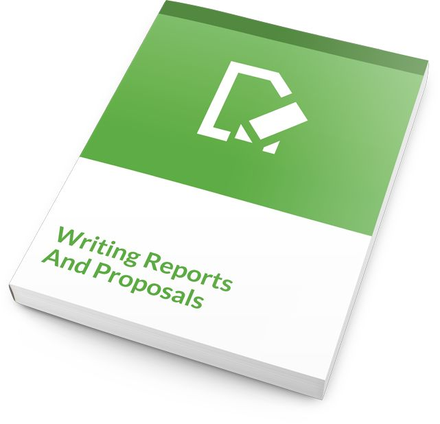 In Writing Reports and Proposals - a one day comprehensive training course - your participants will learn four stages of report writing, and nine tips for effective writing that will help them create materials that are engaging, understandable, and most important, get read. In addition, students will learn about using persuasive language as a means to get noticed and increase buy-in.  #writing #reports #coureware