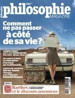 Philosophie magazine / été 2015
