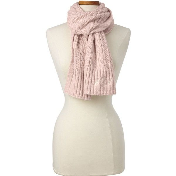 Lands' End Women's Cashmere Cable Scarf ($149) ❤ liked on Polyvore featuring accessories, scarves, red, red shawl, cable knit shawl, cable knit scarves, lands end scarves and red cashmere shawl